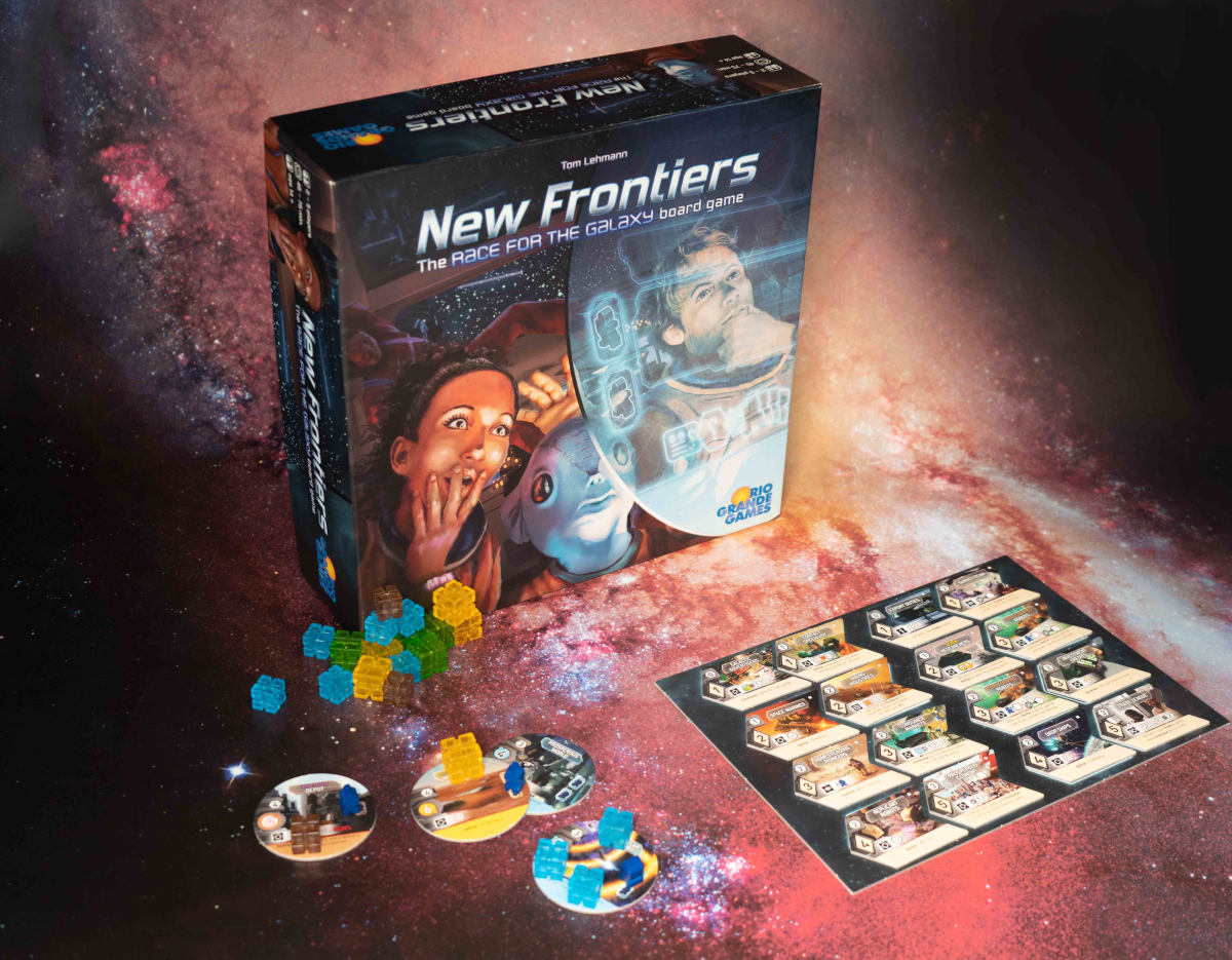 New Frontiers Gra Portal Games