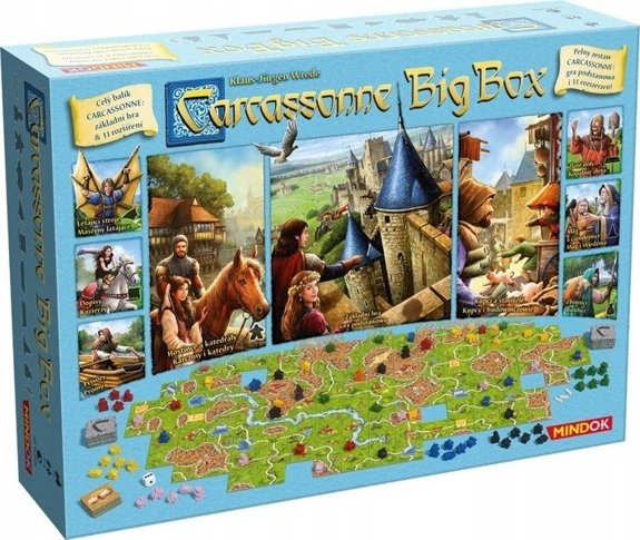 CARCASSONNE: BIG BOX