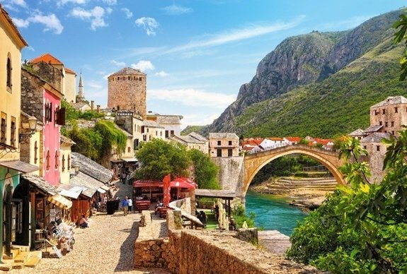 The Old Town of Mostar, Bośnia i Herzegovina