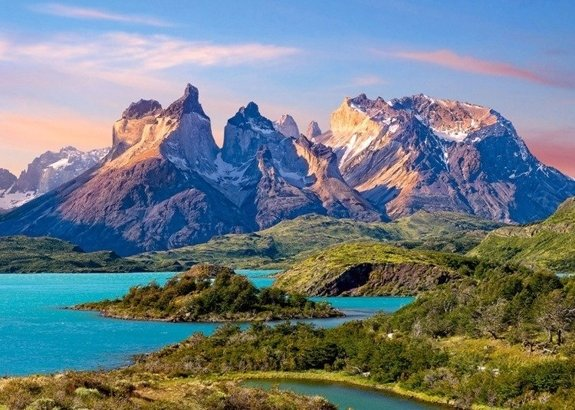 Torres del Paine, Patagonia, Góry, Chile